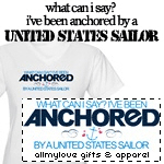 Anchored By a Sailor T-Shirts and Gifts