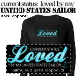 Status: Loved By My Sailor Dark Apparel