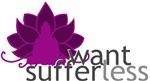 Want Less Suffer Less - Solid Lotus & Buddha