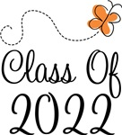 Class of 2022 Butterfly Graduate Gifts & Tees