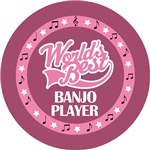 BANJO PLAYER (Worlds Best) T-SHIRT GIFTS
