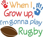Future Rugby Player Kids T-Shirts
