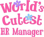 Worlds Cutest HR Manager Gifts and T-shirts