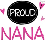 Proud Nana Butterfly T-shirts and Gifts