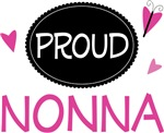 Proud Nonna Butterfly T-shirts and Gifts