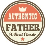 Authentic Father Vintage Gifts and T-Shirts