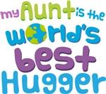 Aunt Is Worlds Best Hugger
