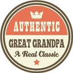 Authentic Great Grandpa Vintage Gifts and T-Shirts