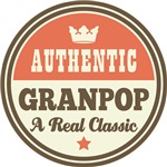 Authentic Granpop Vintage Gifts and T-Shirts