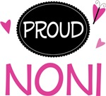 Proud Noni Butterfly T-shirts and Gifts