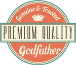 Premium Vintage Godfather Gifts and T-Shirts