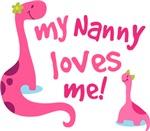 My Nanny Loves Me grandchild gifts