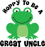 Hoppy to be a Great Uncle Gifts and T-shirts