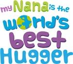 Nana Is Worlds Best Hugger