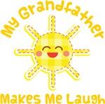 My Grandfather Makes Me Laugh Kids Apparel