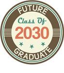 Vintage Future Graduate 2030 Tees
