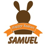 Personalized Easter Bunny Rabbit chocolate vintage