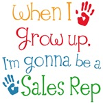 Future Sales Rep Kids T-shirt