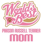 Parson russell terrier Dog Mom T-shirts