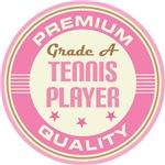 Tennis Player vintage logo T-shirts