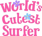 Worlds Cutest Surfer Gifts and T-shirts