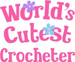 Worlds Cutest Crocheter Gifts and Tshirts