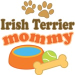Irish Terrier Mom T-shirts and Gifts
