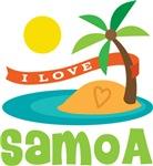 I Love Samoa T-shirts