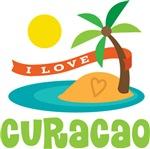 I Love Curacao T-shirts
