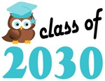 2030 Graduation Tee Shirts (owl)