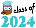 2024 Graduation Tee Shirts (owl)