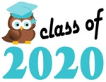 2020 Graduation Tee Shirts (owl)