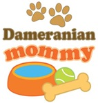 Dameranian Mom T-shirts and Gifts