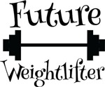 Future Weightlifter Kids Tee Shirts