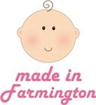 Made In Farmington Utah Baby Tshirts