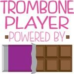 TROMBONE PLAYER powered by chocolate