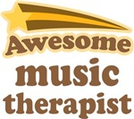 Awesome Music Therapist T-shirts