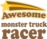Awesome Monster Truck Racer T-shirts