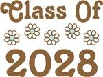 2028 Class Pride flowered tshirts