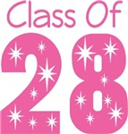 Class Of 2028 Star Tshirts