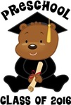 2016 Graduate Preschool Bear tshirts