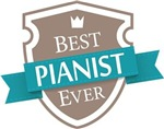 Best Pianist Ever Tees and mugs