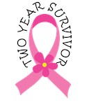 2 Year Breast Cancer Survivor Tshirts