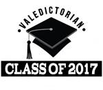 Valedictorian Class Of 2017 Tees