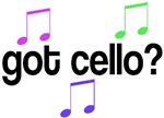 Got Cello T-shirts and Gifts