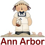 Ann Arbor Sailor boy T-shirts and Gifts
