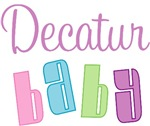 Decatur Alabama Baby Design T-shirts