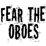 Funny Fear The Oboe T-shirts