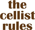 Cellist Rules Cello T-shirts and Gifts