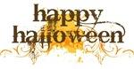 Halloween Slogan Grunge T-shirts